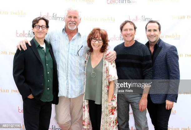 Producer/writer/director Stan Zimmerman actor Mindy Sterling actor Barry Bostwick producer/writer/actor James Berg and actor/host Brian Rodda attend...