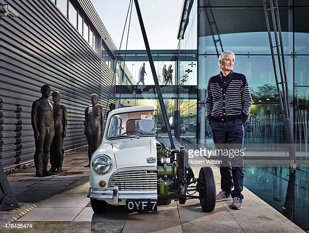 Product designer James Dyson is photographed for the Times on December 10 2014 in Malmesbury England