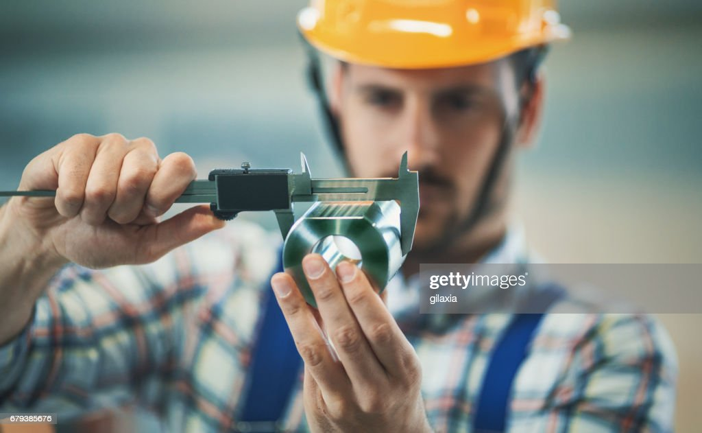 Product inspection. : Stock Photo