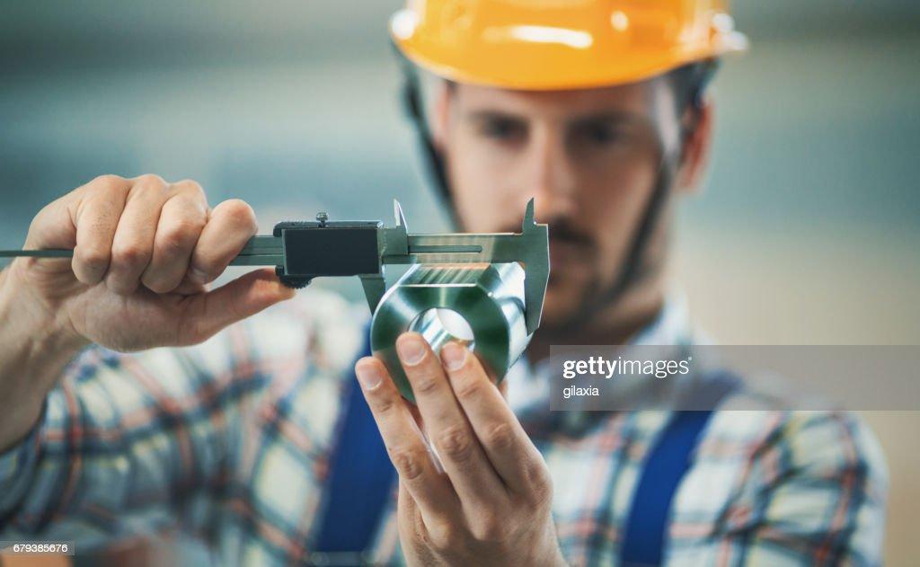 Produktprüfung. : Stock-Foto