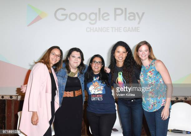 Product Marketing Manager At Google Play Games Elizabeth Del Valle News Photo