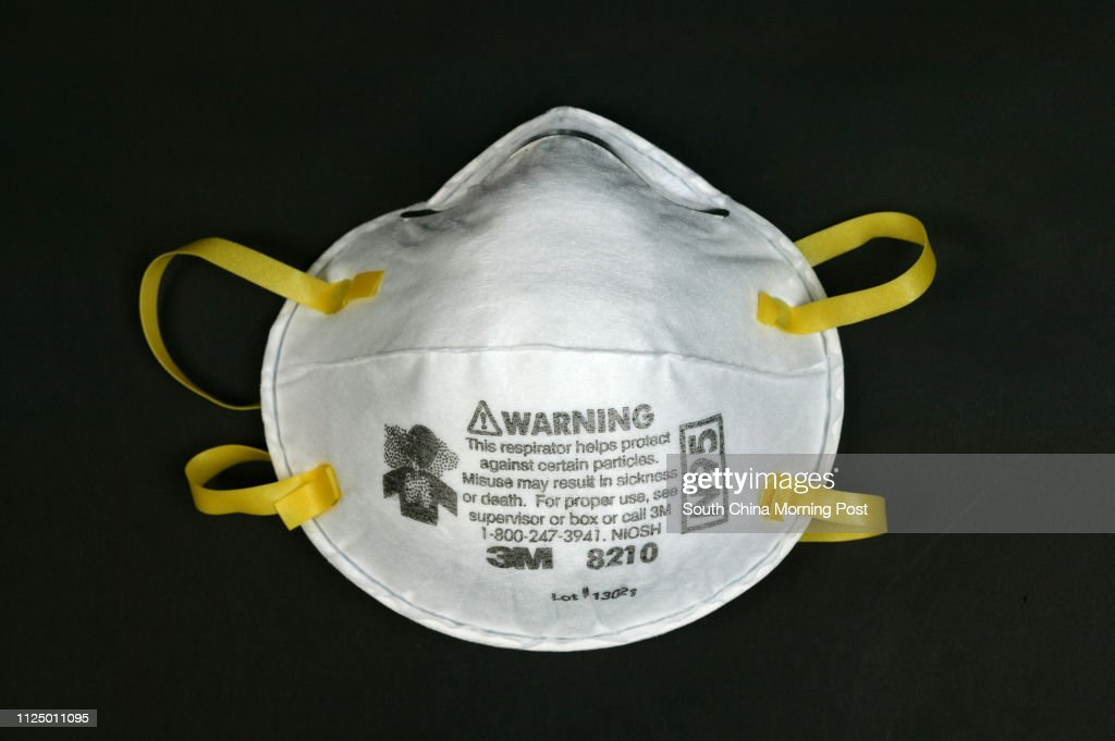 Product shot of an N95 SARS mask.SCMP in-house studio. 27 APRIL 2007 : News Photo