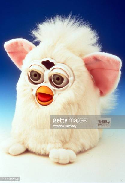 Product shot of Furby an electronic robotic toy resembling a hamster or owllike creature is photographed December 1 1998 in New York City Furby is...