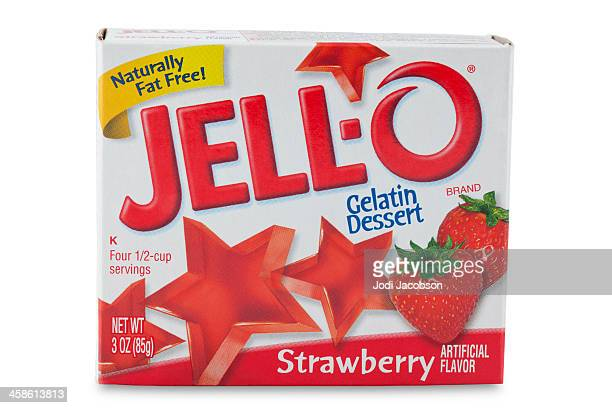 Product shot of Jello brand Gelatin