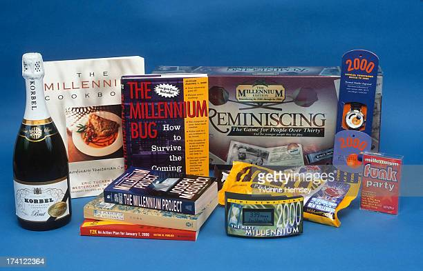 Product shot of millennium/Y2K items is photographed December 7, 1999 in New York City.
