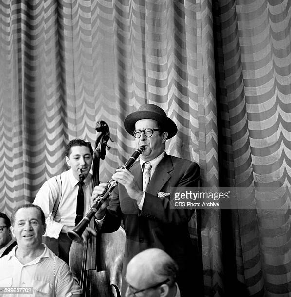 Production and behindthescenes coverage of 'The Jackie Gleason Show' was shot at CBS Studio 50 in New York NY on June 26 1954 Pictured is Phil...