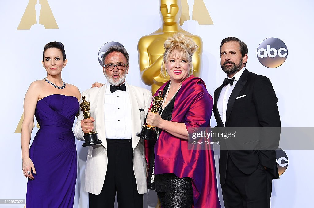 88th Annual Academy Awards - Press Room : News Photo