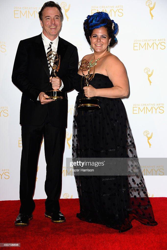 2014 Creative Arts Emmy Awards - Press Room