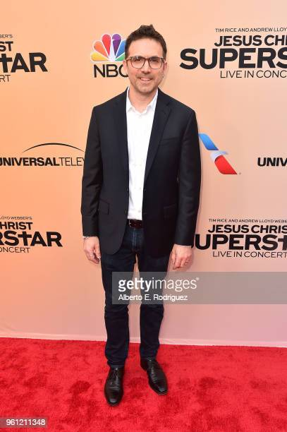 Production designer Jason ArrdizzoneWest attends an FYC Event for NBC's Jesus Christ Superstar Live in Concert at the Egyptian Theatre on May 21 2018...