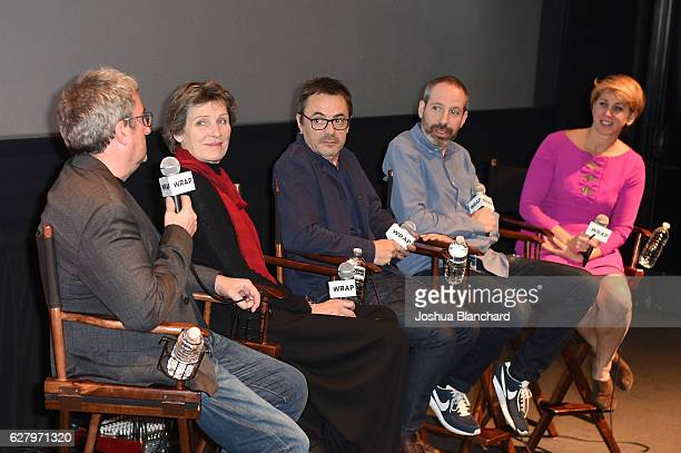 Production Designer Jean Rabasse Costume Designer Madeline Fontaine Cinematographer Stephanie Fontaine Writer Noah Oppenheim and Moderator Sharon...