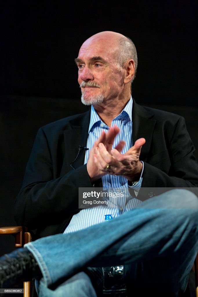 Production Designer Jim Bissell during a panel discussion of the Premiere Of 'Harold And Lillian: A Hollywood Love Story' at the Egyptian Theatre on July 31, 2016 in Hollywood, California.