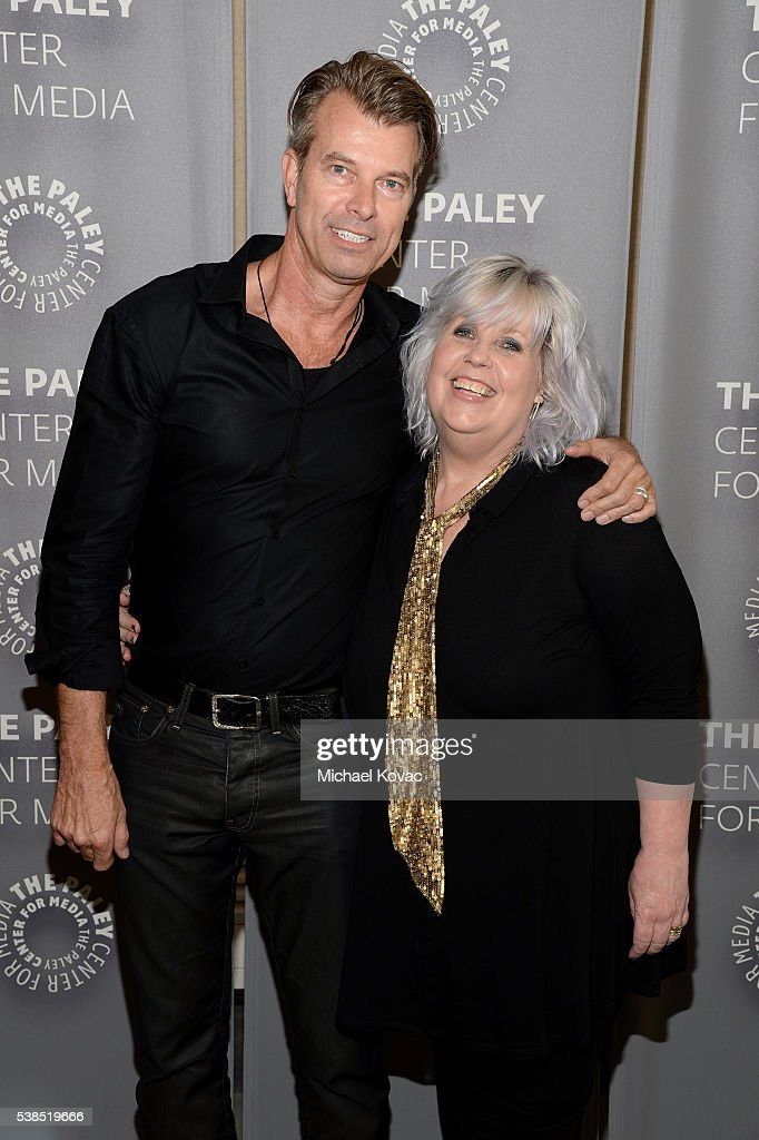 Production designer Jon Gary Steele (L) and costume designer Terry Dresbach attend The Paley Center for Media presents The Artistry of 'Outlander' at The Paley Center for Media on June 6, 2016 in Beverly Hills, California.