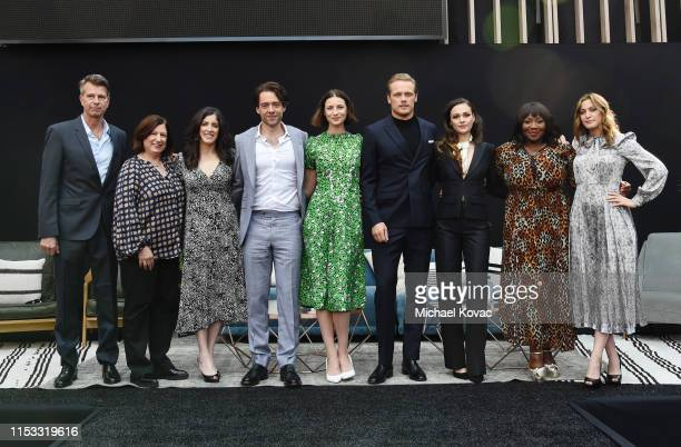 Production Designer Jon Gary Steele Executive Producer/Writer Toni Graphia Executive Producer Maril Davis Richard Rankin Caitriona Balfe Sam Heughan...