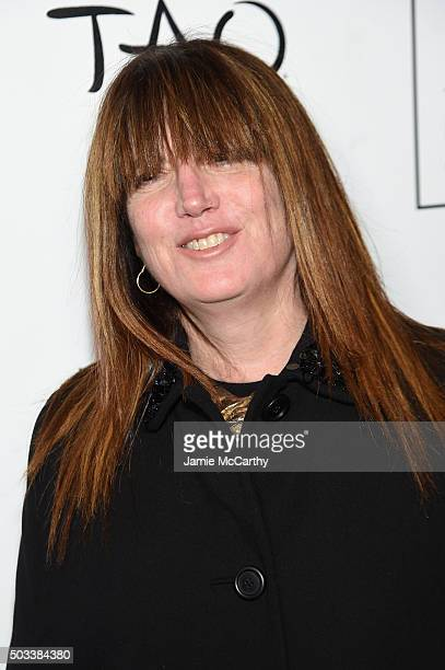 Production Designer Judy Becker attends 2015 New York Film Critics Circle Awards at TAO Downtown on January 4 2016 in New York City