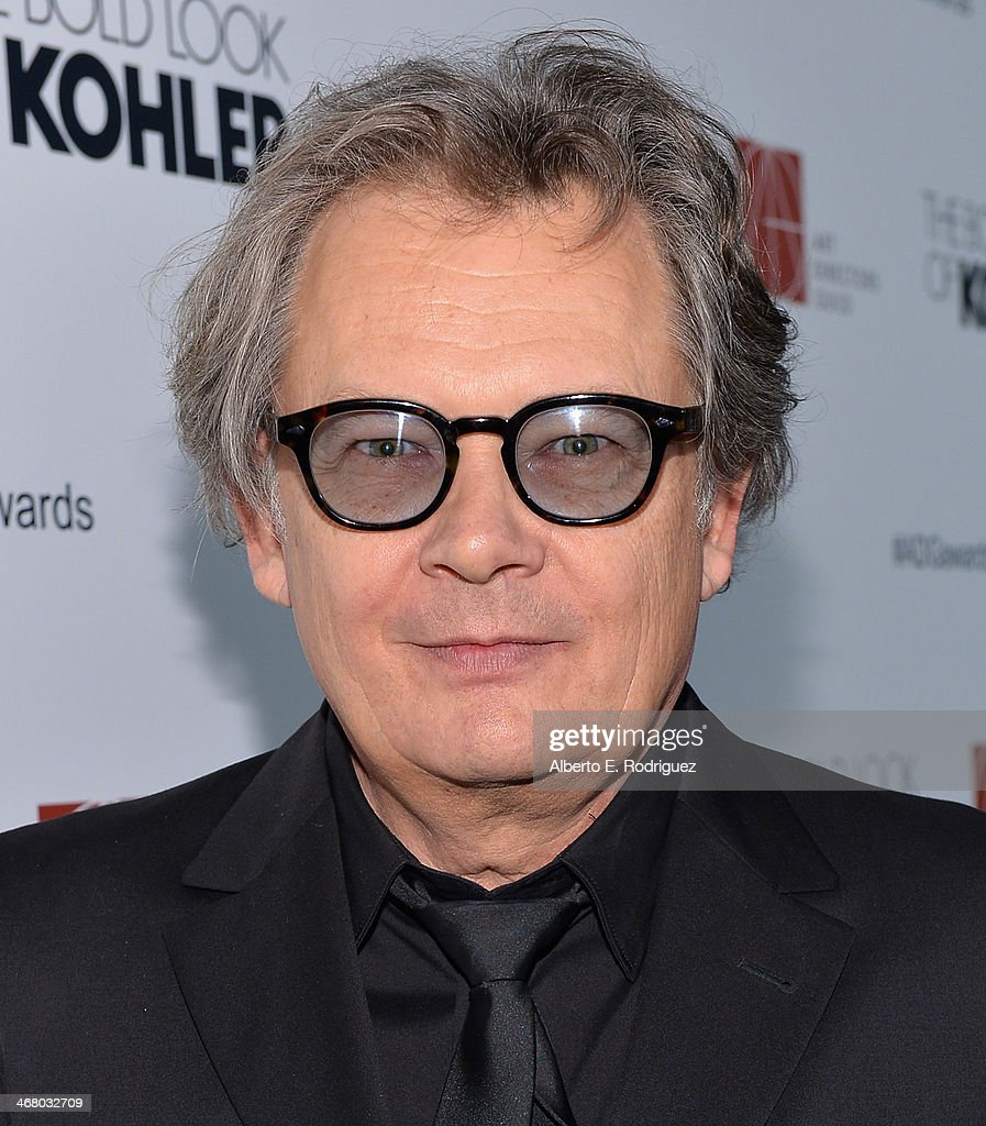 Production designer K.K. Barrett arrives to the 18th Annual Art Directors Guild Exellence In Production Design Awards at The Beverly Hilton Hotel on February 8, 2014 in Beverly Hills, California.