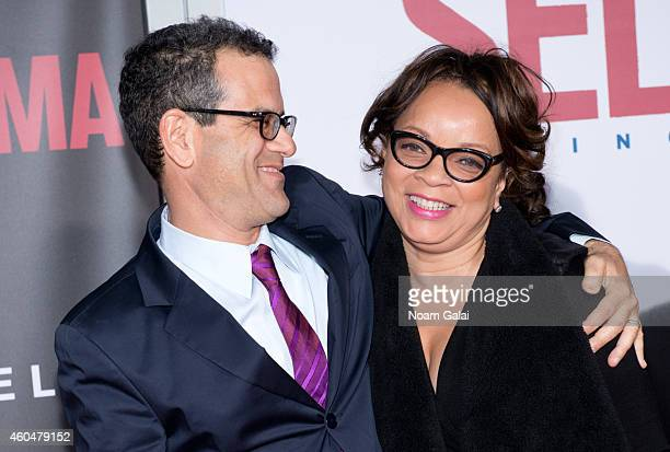 Production designer Mark Friedberg and costume designer Ruth E Carter attend the Selma New York Premiere at Ziegfeld Theater on December 14 2014 in...
