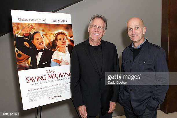 Production designer Michael Corenblith and costume designer Daniel Orlandi attend TheWrap's Awards Foreign Screening Series Saving Mr Banks at the...