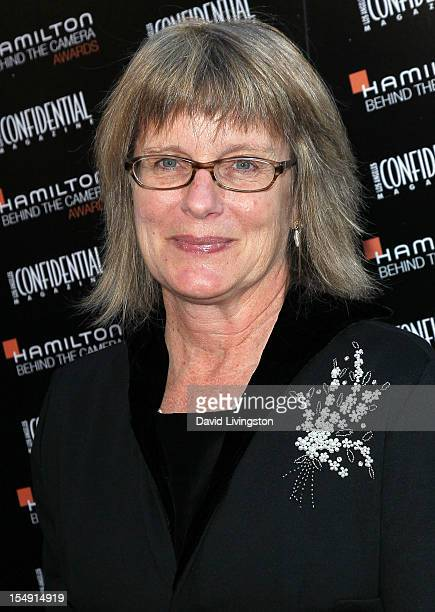 Production designer Sharon Seymour attends the 6th Annual Hamilton Behind The Camera Awards presented by Los Angeles Confidential Magazine at the...