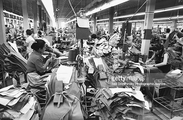 Production Line in Levi Strauss Plant