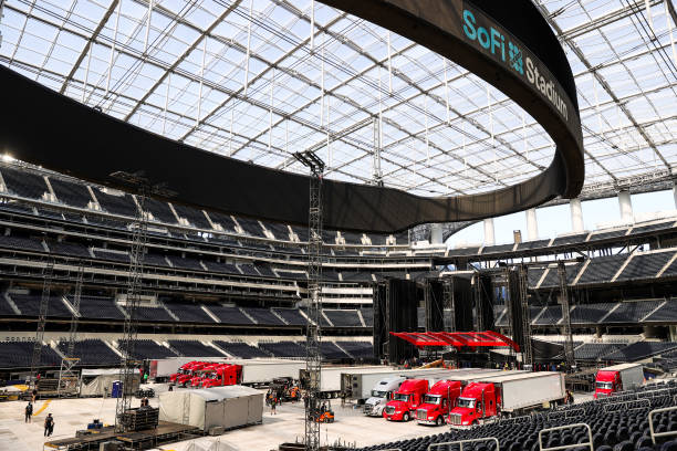 CA: The Rolling Stones Stage Load-In First Look
