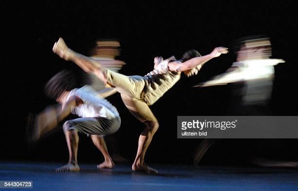 Production of Sasha Waltz' ballet 'Fantasie' with the Ballet de l'Opéra de Lyon in the 'Radialsystem V' Berlin choreographer Sascha Waltz premiere