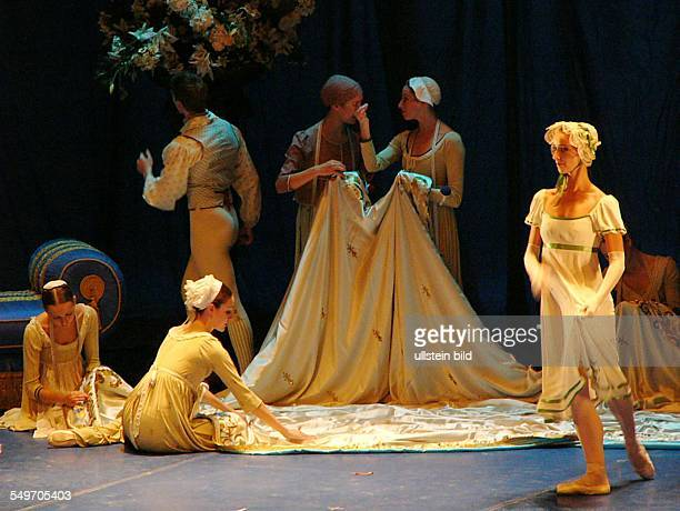 Production of the ballet 'A Midsummer Night's Dream' by John Neumeier in the Hamburgische Staatsoper premiere