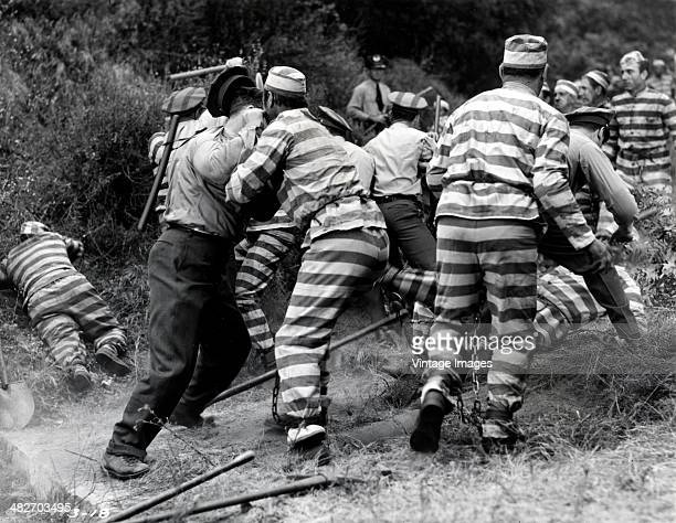 chain gang prisoners stock photos and pictures getty images