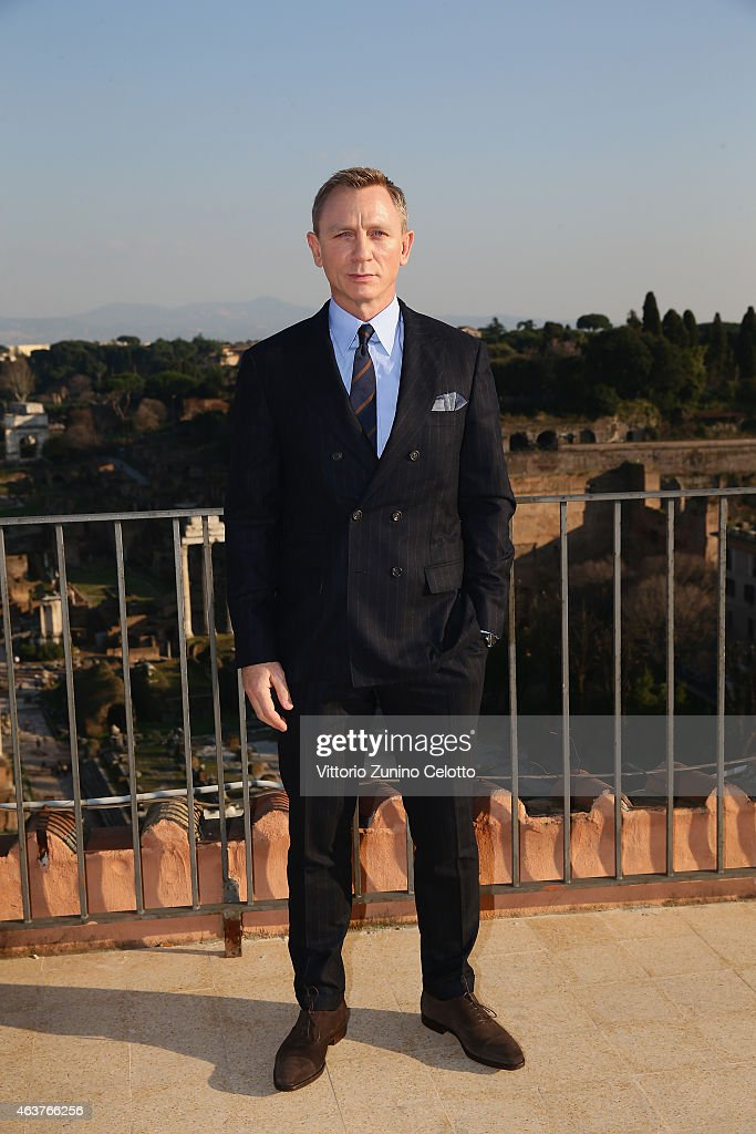 """""""SPECTRE"""" Photocall On Location In Rome, Italy : News Photo"""