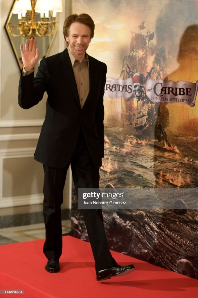 Productor Jerry Bruckheimer attends 'Pirates Of The Caribbean: On Stranger Tides' (Piratas del Caribe: en Mareas Misteriosas) photocall at Villamagna Hotel on May 18, 2011 in Madrid, Spain.