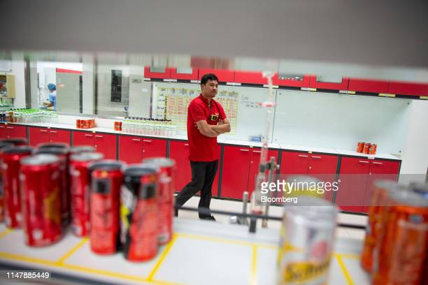 Products are tested in the laboratory at the CocaCola Cambodia Bottling Plant operated by Cambodia Beverage Co which is a subsidiary of CocaCola in...