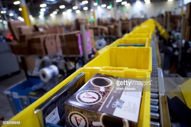 Inside Amazon's Massive Fulfillment Centers Pictures Gallery - Getty