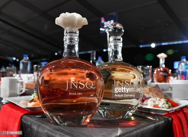 JNSQ products displayed during the 2019 Film Independent Spirit Awards on February 23 2019 in Santa Monica California