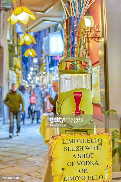 products made from lemons at street stall - sorrento italy stock pictures, royalty-free photos & images