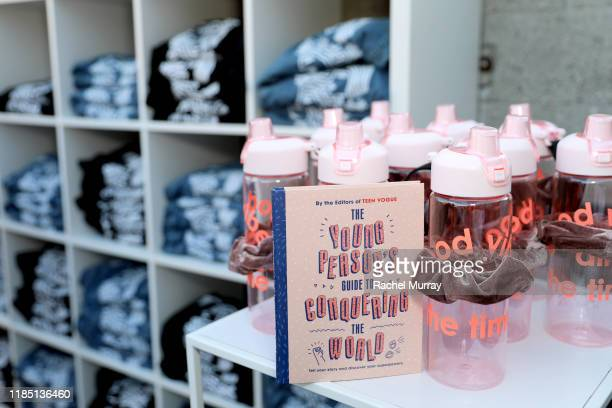 Products on display at the Teen Vogue Summit 2019 at Goya Studios on November 02 2019 in Los Angeles California