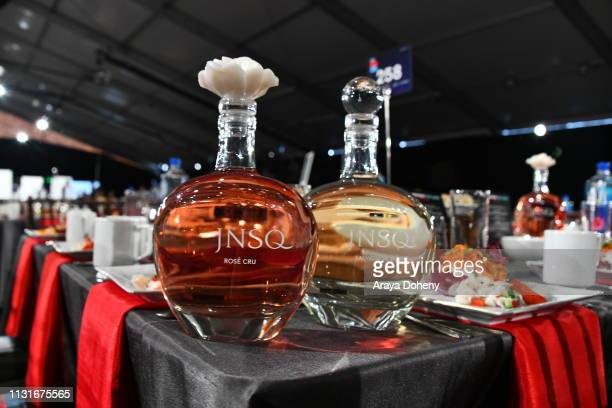 JNSQ products on display during the 2019 Film Independent Spirit Awards on February 23 2019 in Santa Monica California