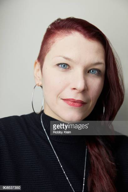 Produer Celine Tricart from the film 'The Sun Ladies' poses for a portrait at the YouTube x Getty Images Portrait Studio at 2018 Sundance Film...