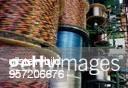 Produktion von Telefonkabeln in der Betafa Berliner Telefonschnur und Spezialkabelfabrik GmbH in der Neuköllner Sonnenallee seit 1992 Teil des...