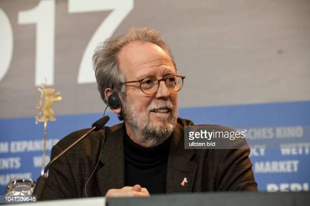 Produzent Francis Boespflug auf der auf der Berlinale PK für den Film Return to Montauk am