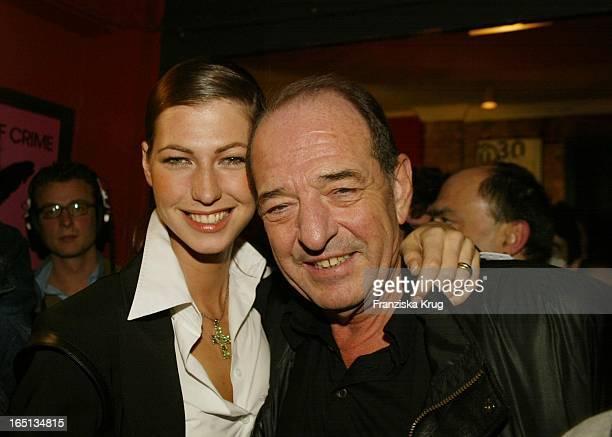 Produzent Ralph Siegel Mit Tochter Marcella Bei Aftershowparty Zum Countdown Grand Prix 2002 In Kiel Am 220202