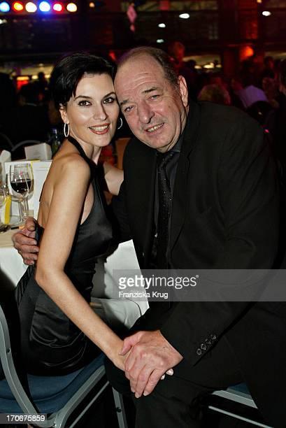 Produzent Ralph Siegel Und Freundin Kriemhild Jahn Beim FundraisingDinner Der Nordoff Robbins Stiftung In Berlin