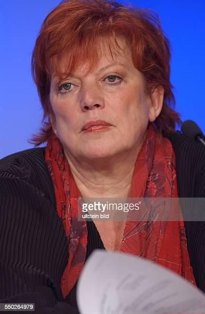 Produzentin Regina Ziegla anlässlich der Pressekonferenz zur ZDF-Spendengala -Comedy für UNICEF- in Berlin