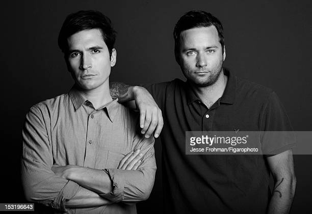 Proenza Schouler designers Lazaro Hernandez and Jack McCollough are photographed for Madame Figaro on June 19 2012 in New York City PUBLISHED IMAGE...