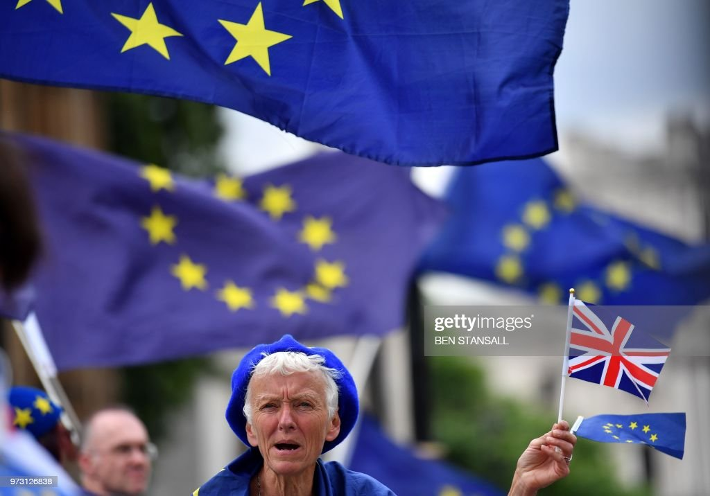 BRITAIN-EU-POLITICS-BREXIT : News Photo