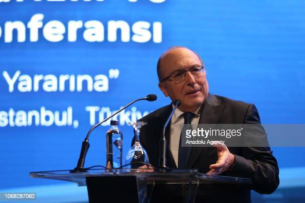 Prof Dr Ahmet Haluk Dursun Deputy Minister of Culture and Tourism of the Republic of Turkey speaks during the closing session of the 3rd UNWTO/UNESCO...