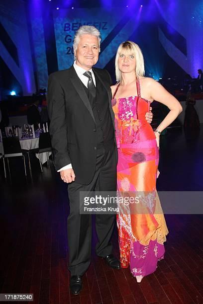 "Prof. Dr. Guido Knopp and his wife Gabriella Knopp When ""The Star Ball"" The Rosengarten in Mannheim"