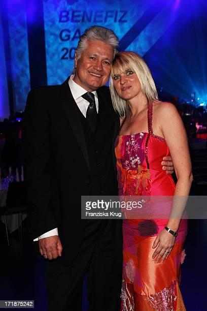Prof Dr Guido Knopp and his wife Gabriella Knopp When The Star Ball The Rosengarten in Mannheim