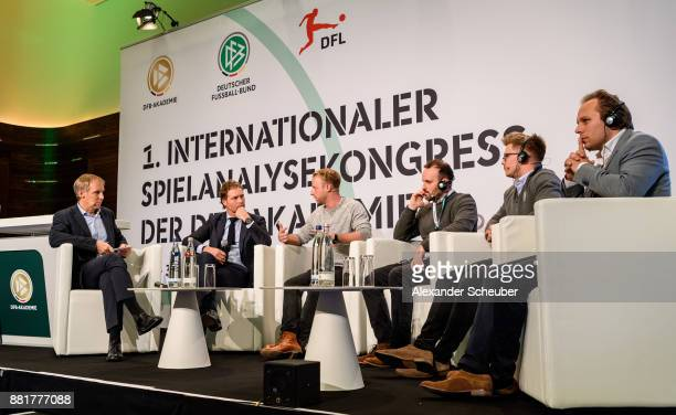 Prof Dr HansDieter Hermann Marcus Sorg Andre Henning Duncan Locke Carwyn Morgan and Steijn Spreij with a panel discussion during the 1st...