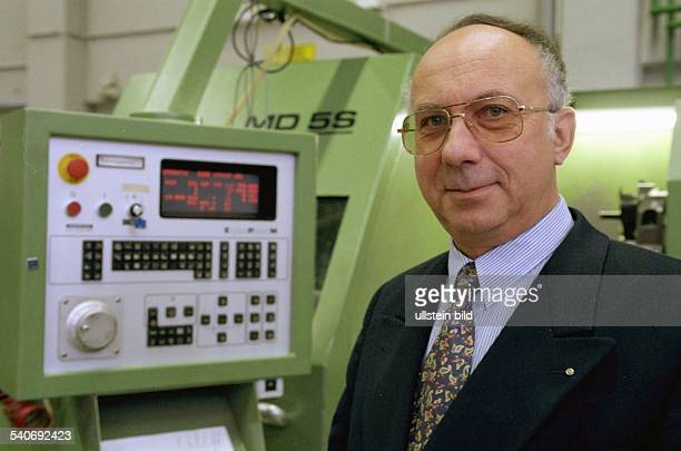 Prof Dr Ing Christian Nedess Präsident der Technischen Universität HamburgHarburg