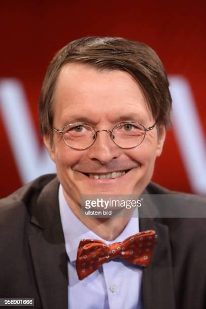 Prof Dr Karl Lauterbach in der ARDTalkshow hart aber fair am in Berlin Waschen pflegen trösten Wer kümmert sich um uns wenn wir alt sind