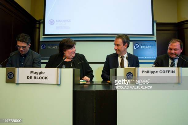 Prof DR Steven Van Gucht Minister of Health Social Affairs Asylum Policy and Migration Maggie De Block Minister of Foreign Affairs and Defence...